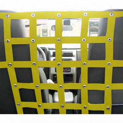 Dirtydog 4x4 Pet Divider, Yellow - D/dt2pd87f1yl