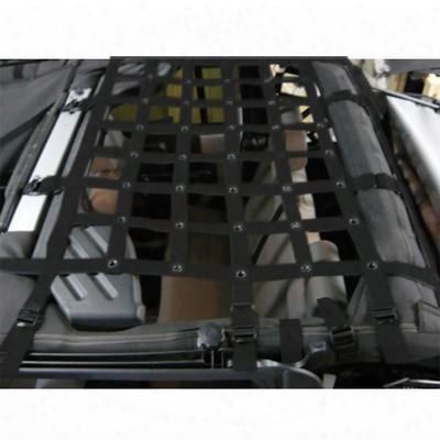 Dirtydog 4x4 Rear Cargo Netting - J4nn07m1bk