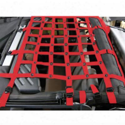 Dirtydog 4x4 Rear Cargo Netting - J4nn07m1rd