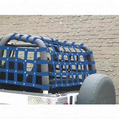 Dirtydog 4x4 Rear Cargo Netting - Y2nn92rcbl