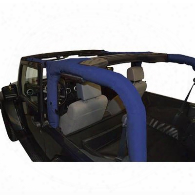 Dirtydog 4x4 Replacement Rol L Bar Cover, Blue - D/dj2rbc07bl