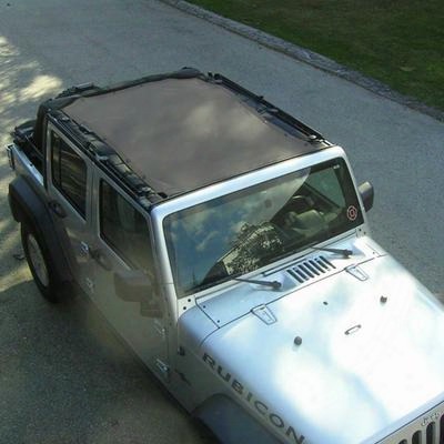 Dirtydog 4x4 Safari Sun Screen, Gray - D/dj4ss07s1gy