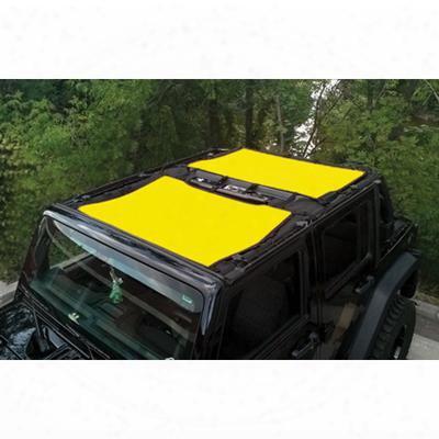Dirtydog 4x4 Sun Screen Kit, Yellow - D/dj4ss07f3yl