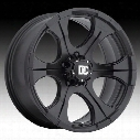 Dick Cepek DC Blackout, 15x8 Wheel with 6 on 5.5 Bolt Pattern - Matte Black (9158412) - 90000024688
