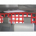 DirtyDog 4x4 Pet Half Divider, Red - D/DJ4PD07R1RD