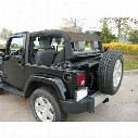 DirtyDog 4x4 Rear Sun Screen, Sand - D/DJ2SS07R1SD
