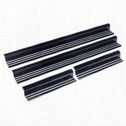 Drake Billet Door Sill Plates, Aluminum - Drkjp-18041-al