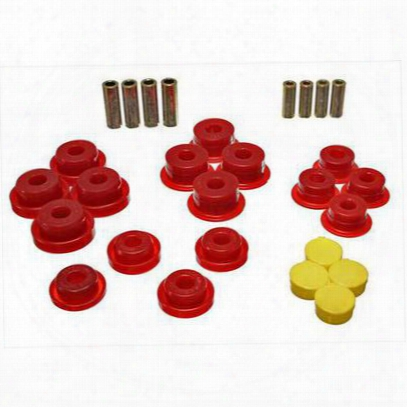 Energy Suspension Control Arm Bushing Set (red) - 2.3106r