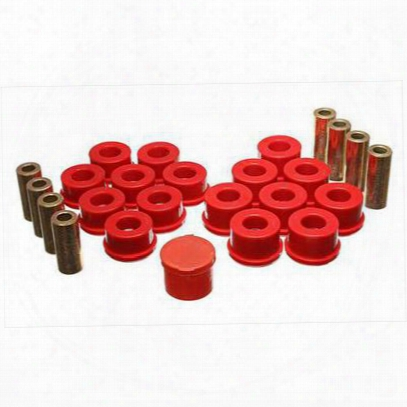 Energy Suspension Control Arm Bushing Set (red) - 2.3109r