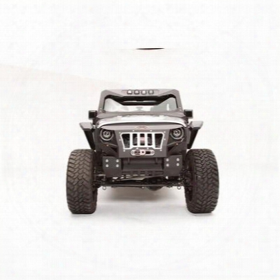 Fab Fours Grumper Crash Bar Cover (black) - Gr1005-1