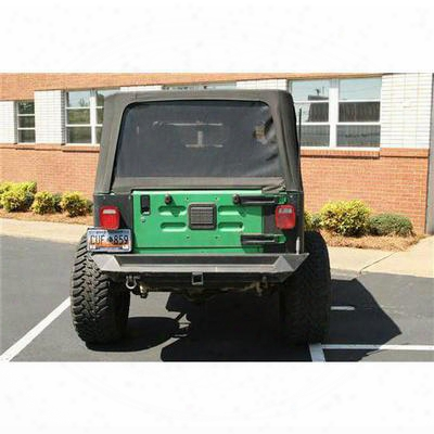 Fab Fours Heavy Duty Rear Bumper With No Tire Carrier (bare) - Jp97-y1051-b