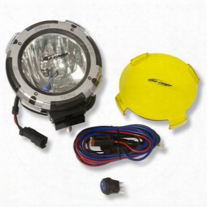 Pro Comp 4 Inch Hid Floodlight W/ Stone Guard (black) - 9640
