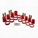 Energy Suspension Control Arm Bushing Set (Red) - 2.3101R