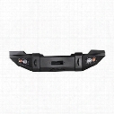 Fab Fours Lifestyle Winch Front Bumper without Grille Guard (Black) - JK07-B1851-1