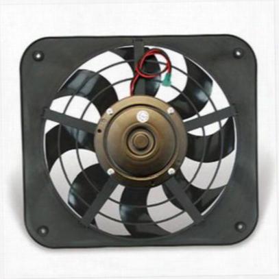 Flex-a-lite Lo-profile S-blade Electric Fan - 133