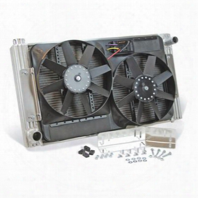 Flex-a-lite Radiator And Fan Package - 52180r