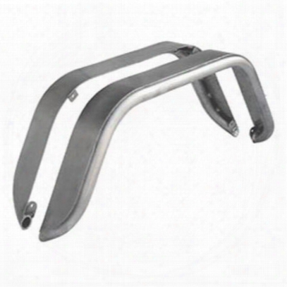 Genright 4 Inch Rear Tube Flares (bare Steel) - Tfr-1030