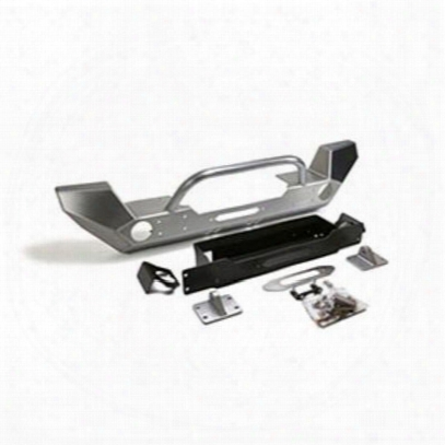 Genright Front Winch Bumper With Winch Guard Bar (bare) - Fbb-8295