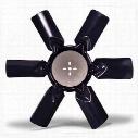 Flex-A-Lite 4600 Series Belt-Driven Fan - 4616