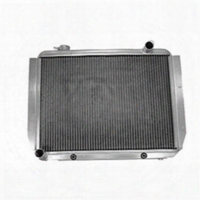 Griffin Thermal Products Performance Aluminum Radiator For Jeep Cj7 Engines With Automatic Transmission - 5-70151