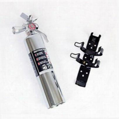 H3r Performance 2.5 Lb. Halguard Chrome Clean Agent Fire Extinguisher - Hg250c