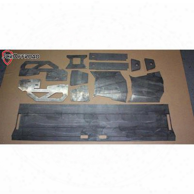 Jcroffroad Diy Rear Bumper - Assembly (bare) - Diy-mj-r