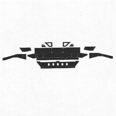 Jcroffroad Front Diy Winch Bumper (bare) - Diy-jk-f