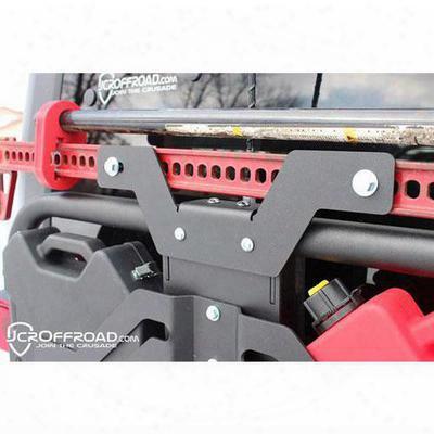 Jcroffroad Hi-lift Mount For Jcr Adventure Tire Carrier - Jkahlm-pc
