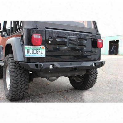 Jcroffroad Vanguard Full Width Rear Bumper (black) - Swbrv-pc