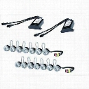 Hella LEDay Flex-7 LED Kit with Position Lamp - 10458851