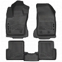 Husky Liners WeatherBeater Front and Rear Floor Liner Kit - 99081