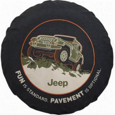 Jeep 29 Inch Spare Tire Cover - 82210885ab