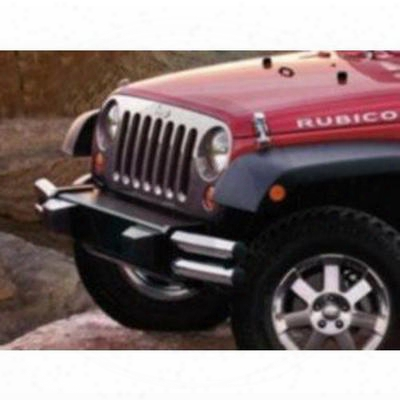 Jeep Tubular Front Bumper (chrome) - 82211923ad