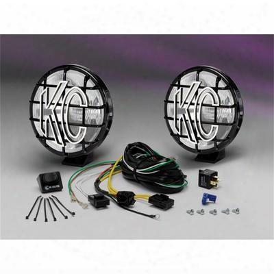 Kc Hilites 6 Inch Apollo Pro Series Driving Light Kit - 151