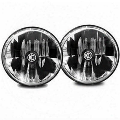 Kc Hilites Gravity Led 7 Inch Headlight Kit (clear) - 42351
