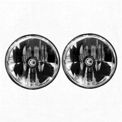 Kc Hilites Gravity Led 7 Inch Headlight Kit (clear) - 42361