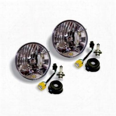 Kc Hilites Jk H4 Headoight Conversion Kit (clear) - 42302