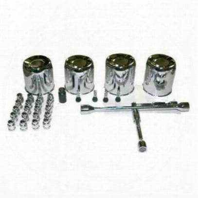 4wd Xtreme Steel Wheel Center Cap Kit - 5451k