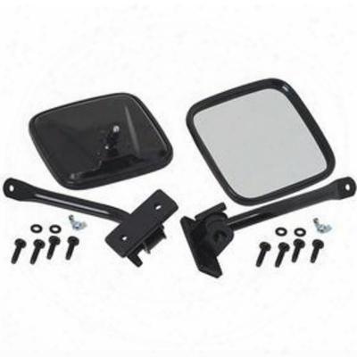 Kentrol E-z Detach Mirrors (black) - 80496