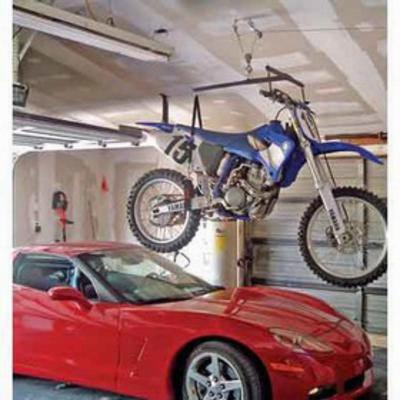 Lange Originals Hoist-a-bike Frame With Winch - 014-620