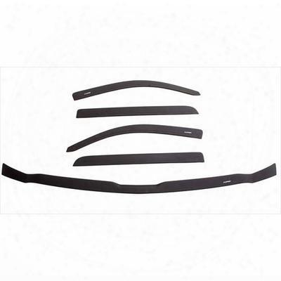 Lund Ventvisor/bug Shield Combo (smoke) - 44007003