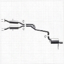 MagnaFlow Stainless Steel Cat-Back Performance Exhaust System - 16991