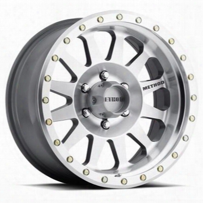 Method Race Wheels Double Standard, 7x8.5 With 5 On 5 Bolt Pattern - Machined - Mr30478550300