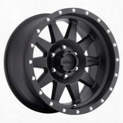 Method Race Wheels The Standard 15x7 With 5 On 45 Bolt Figure - Flat Black - Mr30157012506n