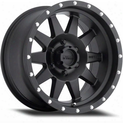 Method Race Wheels The Standard 18x9 With 8 On 180 Bolt Pattern - Matte Black - Mr30189088518