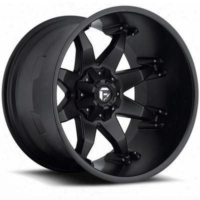 Mht Fuel Offroad D509 Octane Deep, 20x12 Wheel With 8 On 170 Bolt Pattern - Black - D50920201747