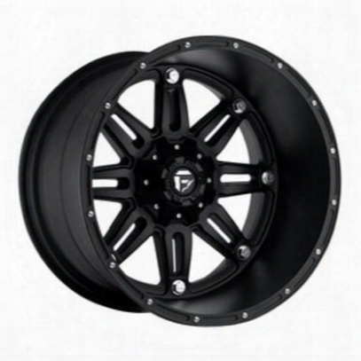 Mht Fuel Offroad D531 Hostage Deep, 20x12 Wheel With 5 On 5.5 And 5 On 5 Bolt Pattern - Black - D53120205747