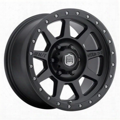 Mickey Thompson Deegan 38 Pro 4 Black, 15x8 Wheel With 5 On 4.5 Bolt Pattern - Matte Black (8158421) - 90000024754