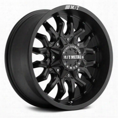 Mickey Thompson Mm-489, 18x9 Wheel With 5 On 150 And 5 On 5.5 Bolt Pattern - Matte Black (8989153) - 90000022631