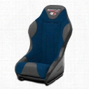 MasterCraft Safety 1 Inch WIDER 3G Front Seat with DirtSport Stitch Pattern (Black/ Blue) - 568023